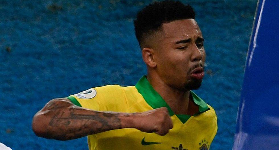 Selección de Brasil: el drama y festejo de Gabriel Jesus en la final de la Copa América | VIDEO