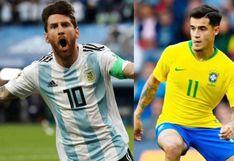 Argentina vs. Brasil: Cómo, cuándo y dónde ver el amistoso internacional por fecha FIFA