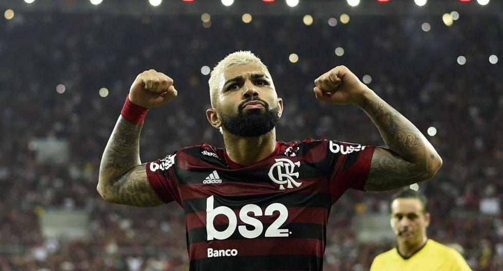 Gabriel Barbosa es el principal arma de ataque de Flamengo esta temporada. (Foto: AFP)