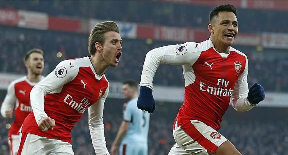 Arsenal venció 2-1 al Burnley por la Premier League [VIDEO]