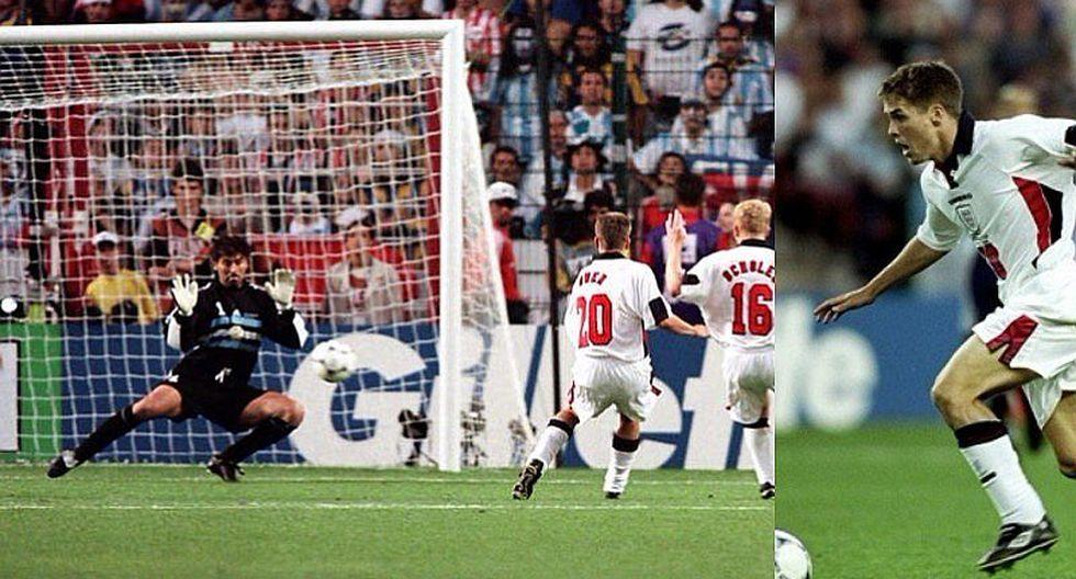 FIFA revive golazo 'Maradoniano' de Michel Owen ante Argentina
