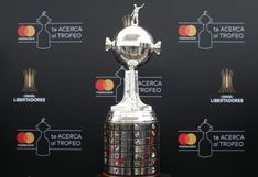 Final de Copa Libertadores: así luce en Lima el trofeo que levantarán River Plate o Flamengo | FOTOS