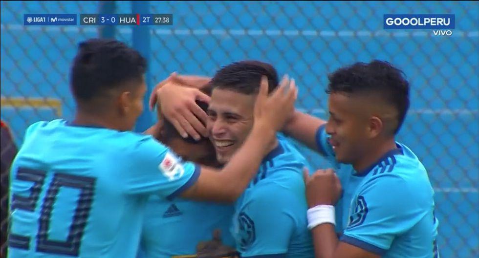 Sporting Cristal: Cristian Palacios aprovechó error de Pinto y marcó su triplete | VIDEO