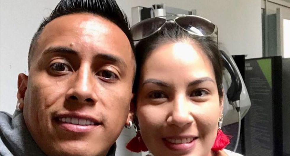 """Christian Cueva: Pamela López y su divertido saludo al futbolista: """"Feliz cumpleaños, enano cabeza de piña"""". (Foto: Instagram)"""