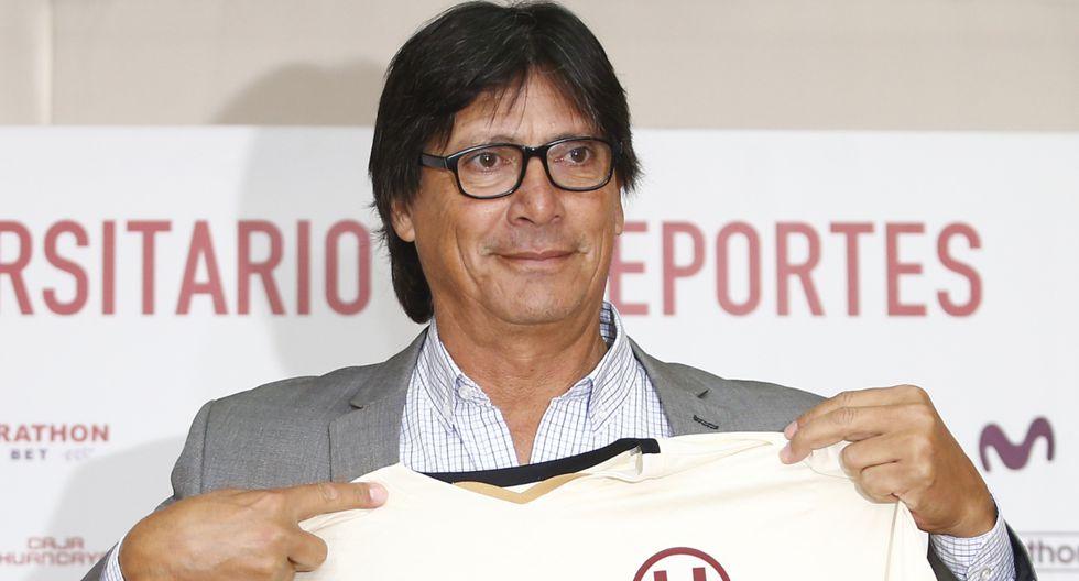 Ángel Comizzo dirigió los 17 encuentros de Universitario en el Torneo Clausura 2019 | Foto: GEC