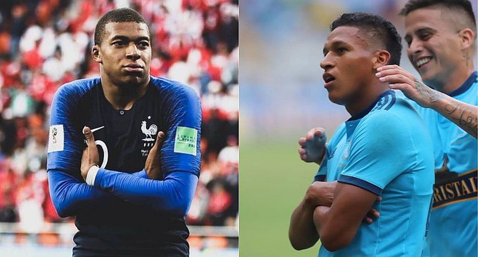 Fernando Pacheco reveló que sus compañeros lo comparan con Mbappé