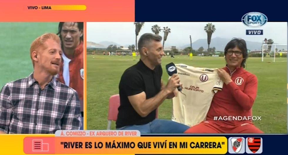 Final de Libertadores | Martín Liberman le 'reclamó' en vivo a Comizzo por no regalarle una camiseta de Universitario [VIDEO]