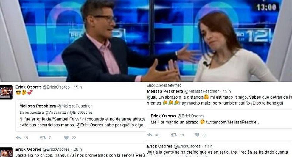Erick Osores quiso aclarar rechazo de su compañera pero terminó peor [VIDEO]