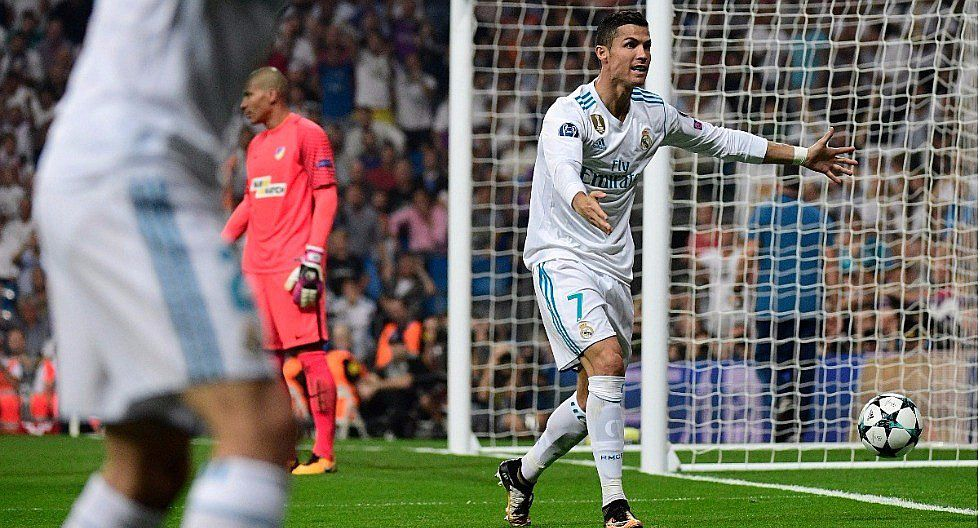 Real Madrid goleó 3-0 al APOEL en la Champions League