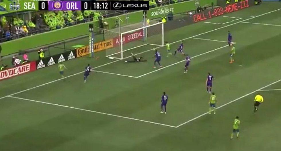 Revive el golazo que marcó Raúl Ruidíaz con Seattle Sounders en la MLS ante Orlando City | VIDEO