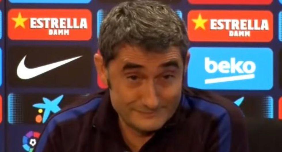 DT de Barcelona 'troleó' periodista tras pregunta incómoda sobre Griezmann y se vuelve viral | VIDEO
