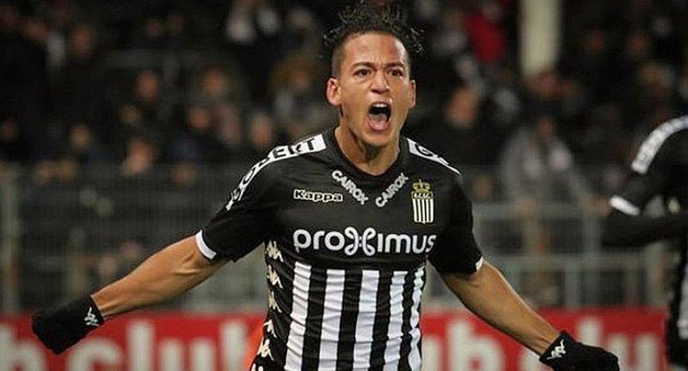 Cristian Benavente incluido en el once ideal en Bélgica [VIDEO]