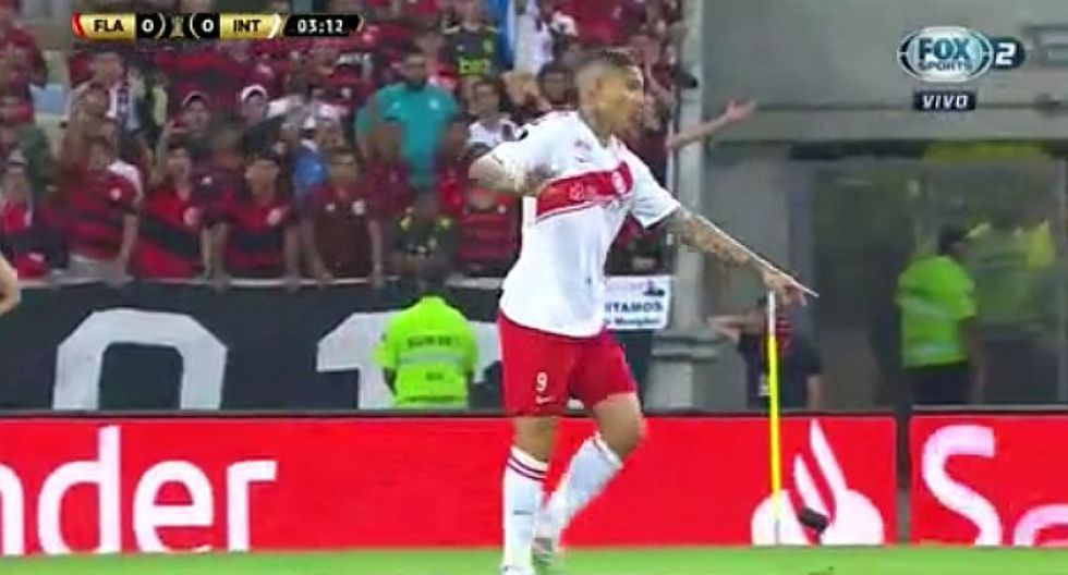 Paolo Guerrero recibió pifias de 85 mil hinchas de Flamengo por falta contra Diego Alves  | VIDEO