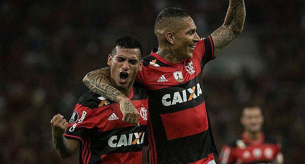 Prensa chilena destaca aporte de Paolo Guerrero y Miguel Trauco en Flamengo