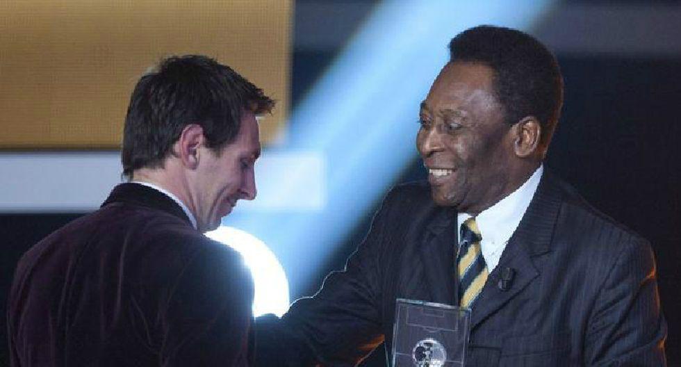 """Pelé: """"Lionel Messi es el mejor jugador de la última década"""""""