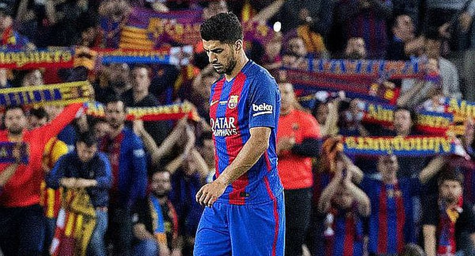 Barcelona: Luis Suárez estará un mes de de baja por lesión