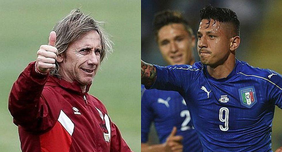 FPF descarta convocatoria de Gianluca Lapadula a la selección peruana