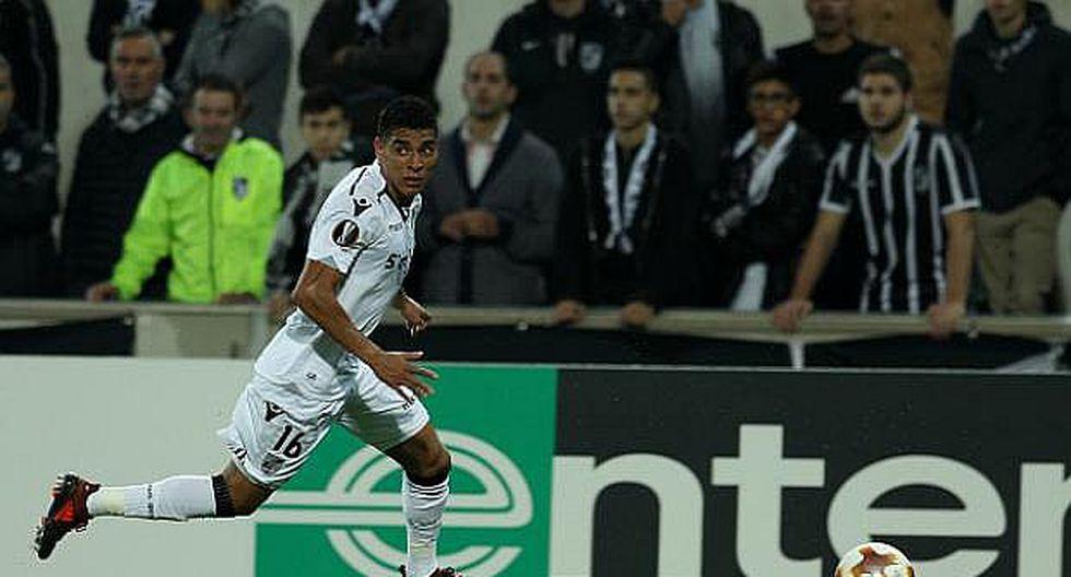 Paolo Hurtado volvió a jugar en su club luego de superar su lesión
