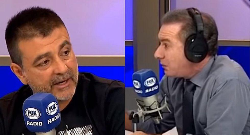 Sporting Cristal: la tensa discusión en vivo entre Fleischman y Vivas por el momento rimense   VIDEO