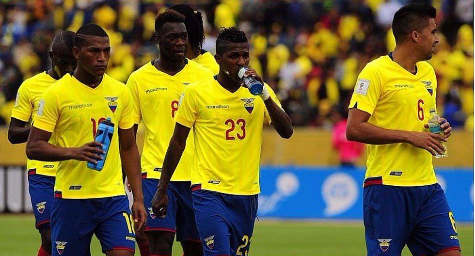 Selección ecuatoriana botó a 5 jugadores por irse de juerga