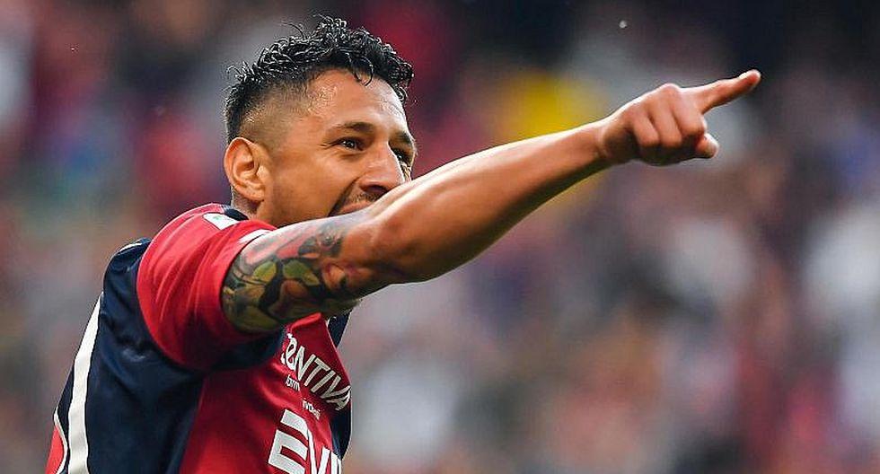 Gianluca Lapadula ingresó en Genoa y marcó golazo en 30 segundos